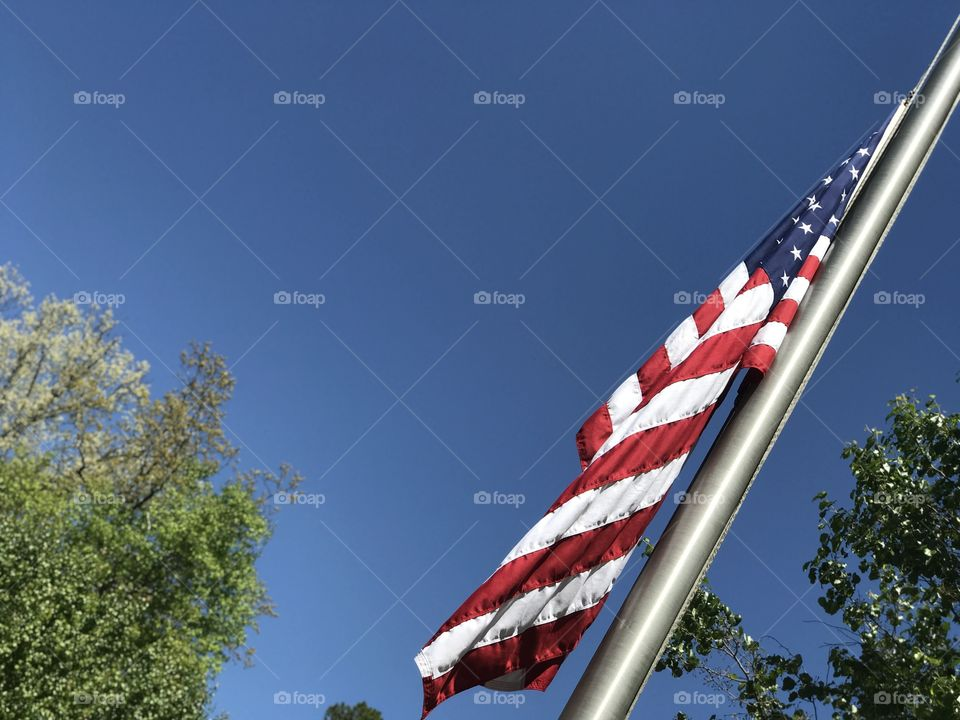 And our flag was still there!!! Beautiful!