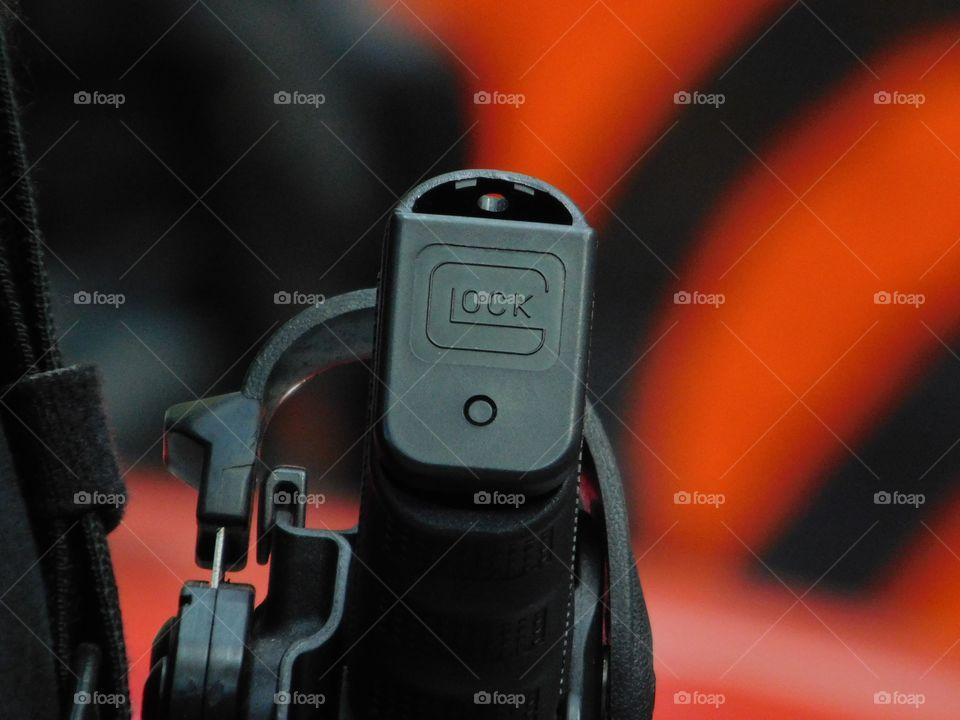 Glock side gun - Police