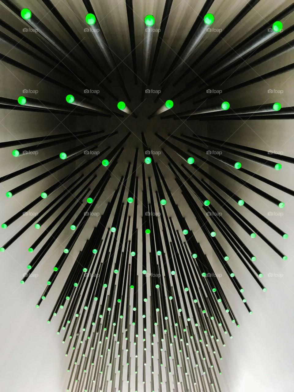 Spikes of light