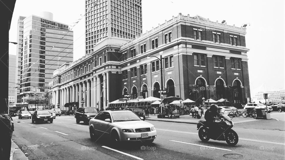 Waterfront Station, at Gastown Downtown Vancouver.