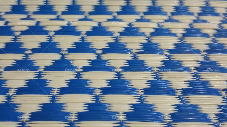 Pattern Texture Blue White