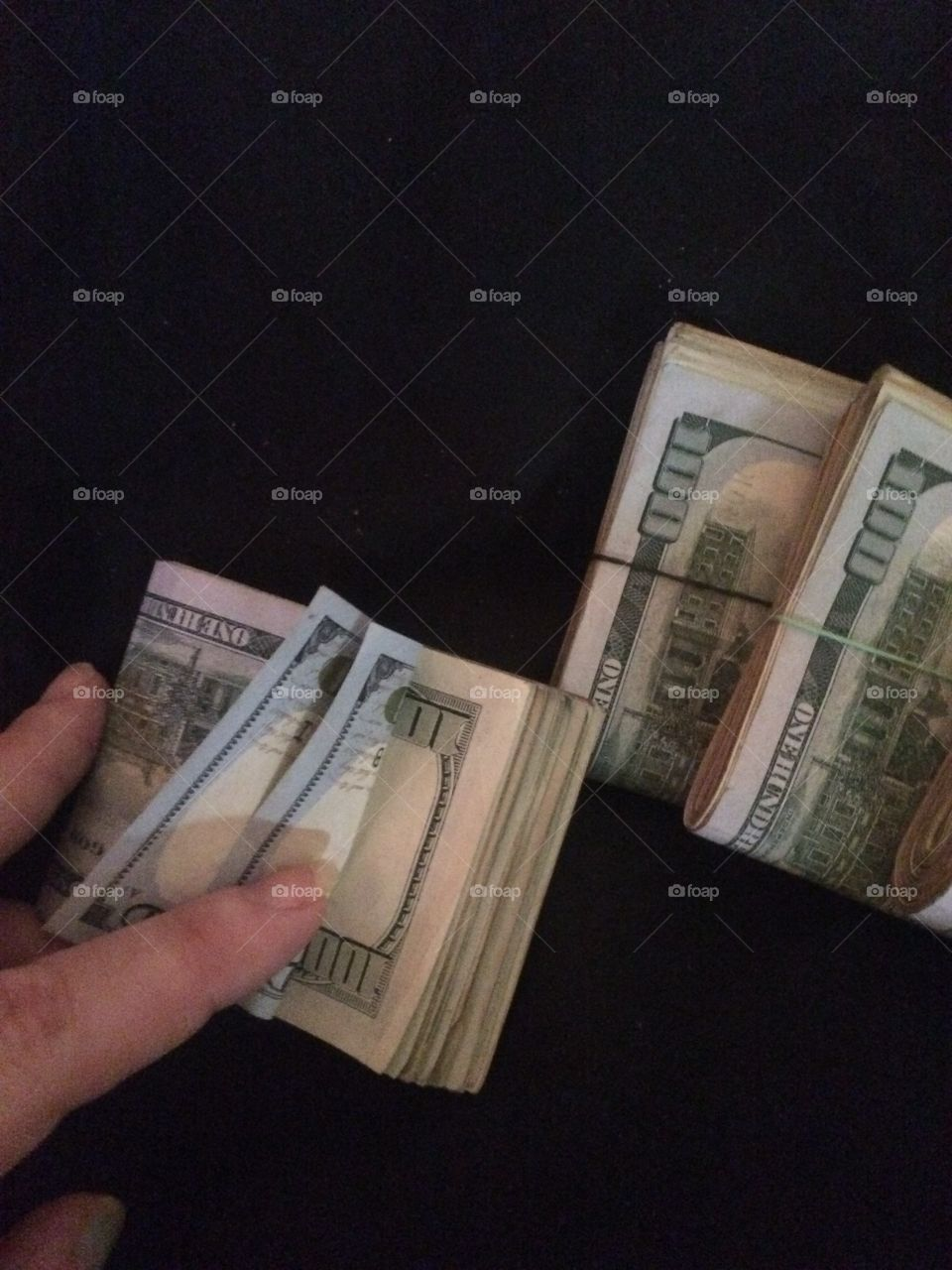 Playing with loan money needed for bills that'll be the only time you see me with Ben Franklin