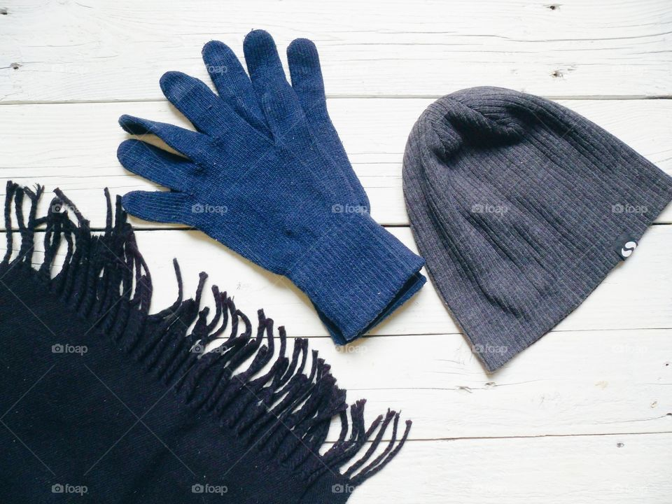 Close-up of warm clothing