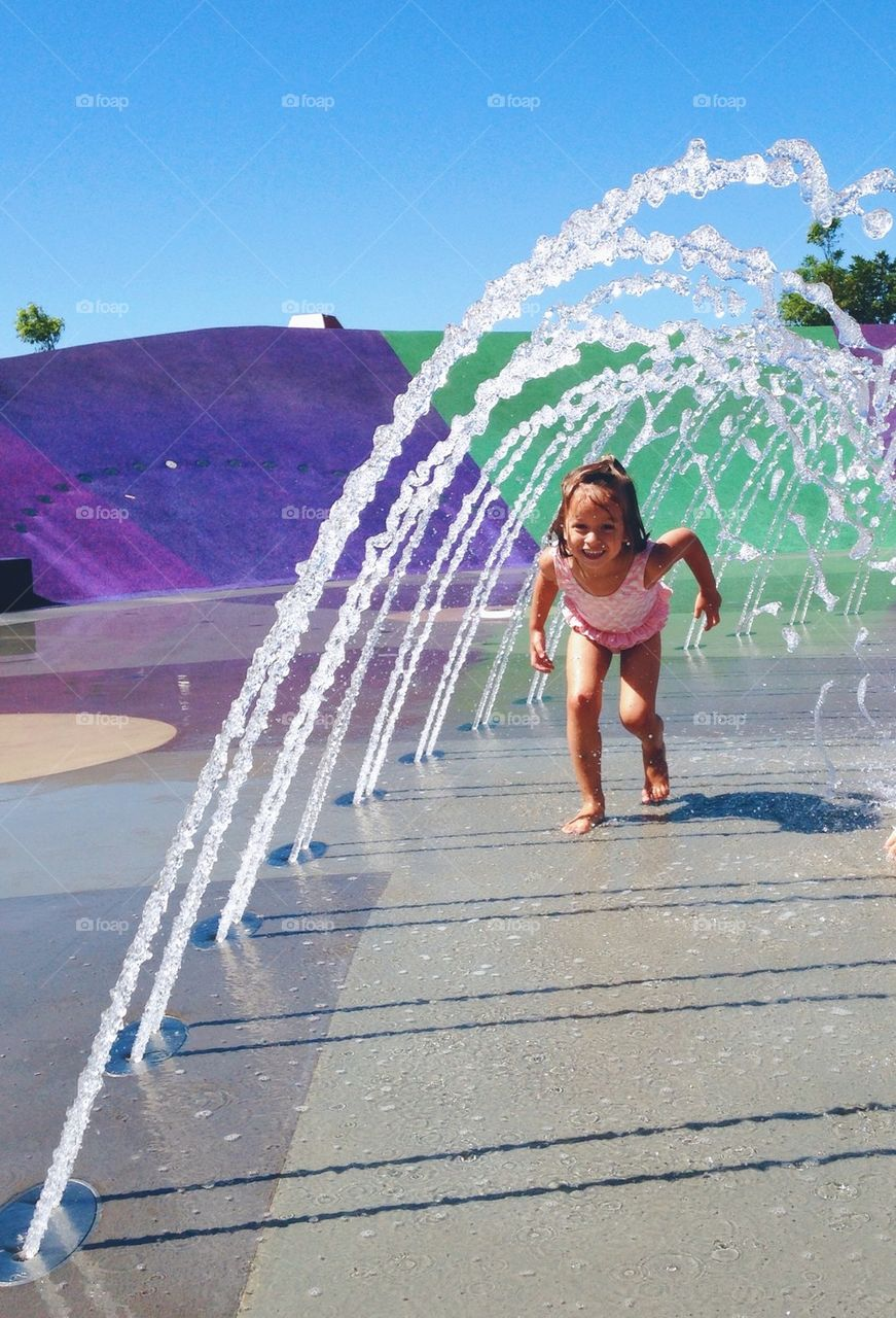 Water park play