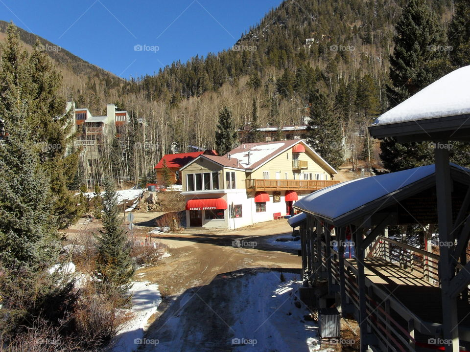 Taos NM Ski Valley. Taos NM Ski Valley shops.