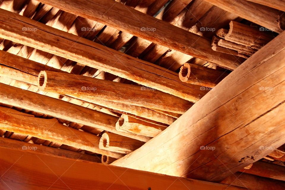 Ocotillo Wood Rafters