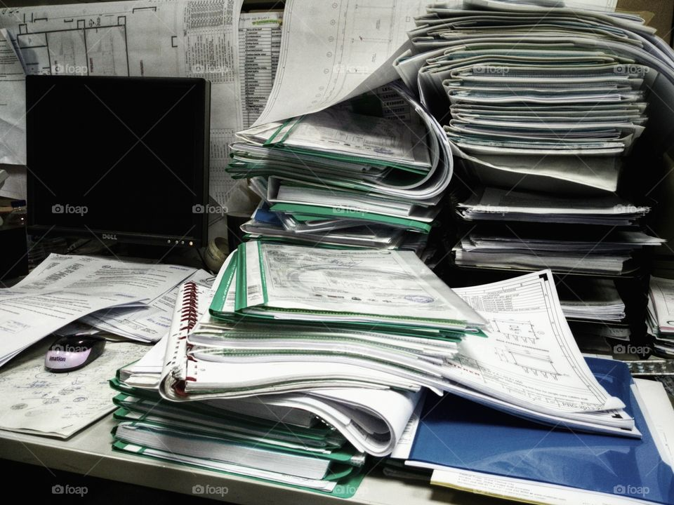 Work piling up