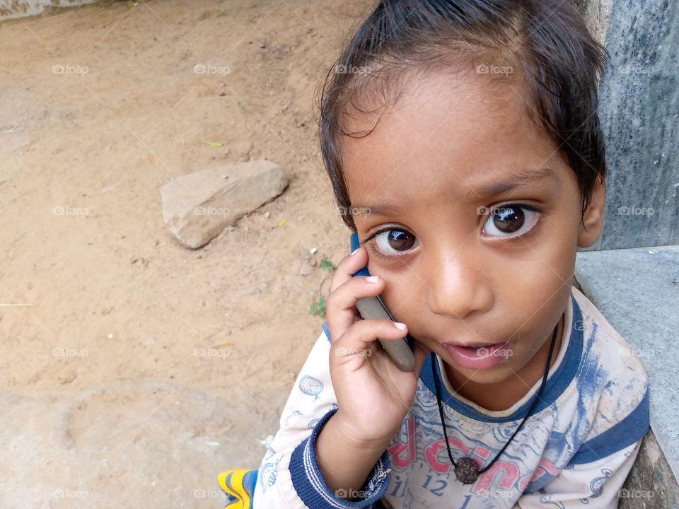 child on call...