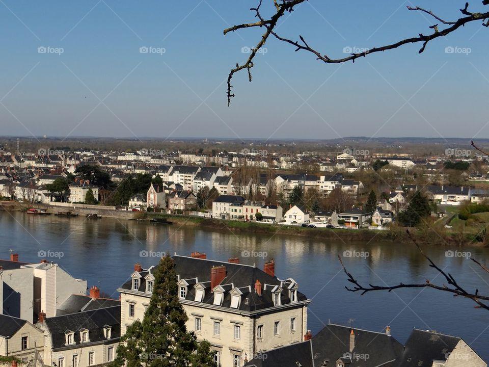 Saumur city