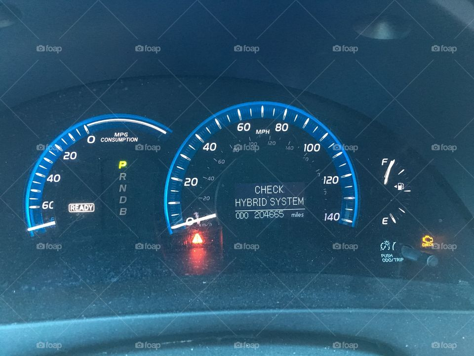 Check Engine Light Toyota Camry >> Foap Com Check Hybrid System Warning And Check Engine Light
