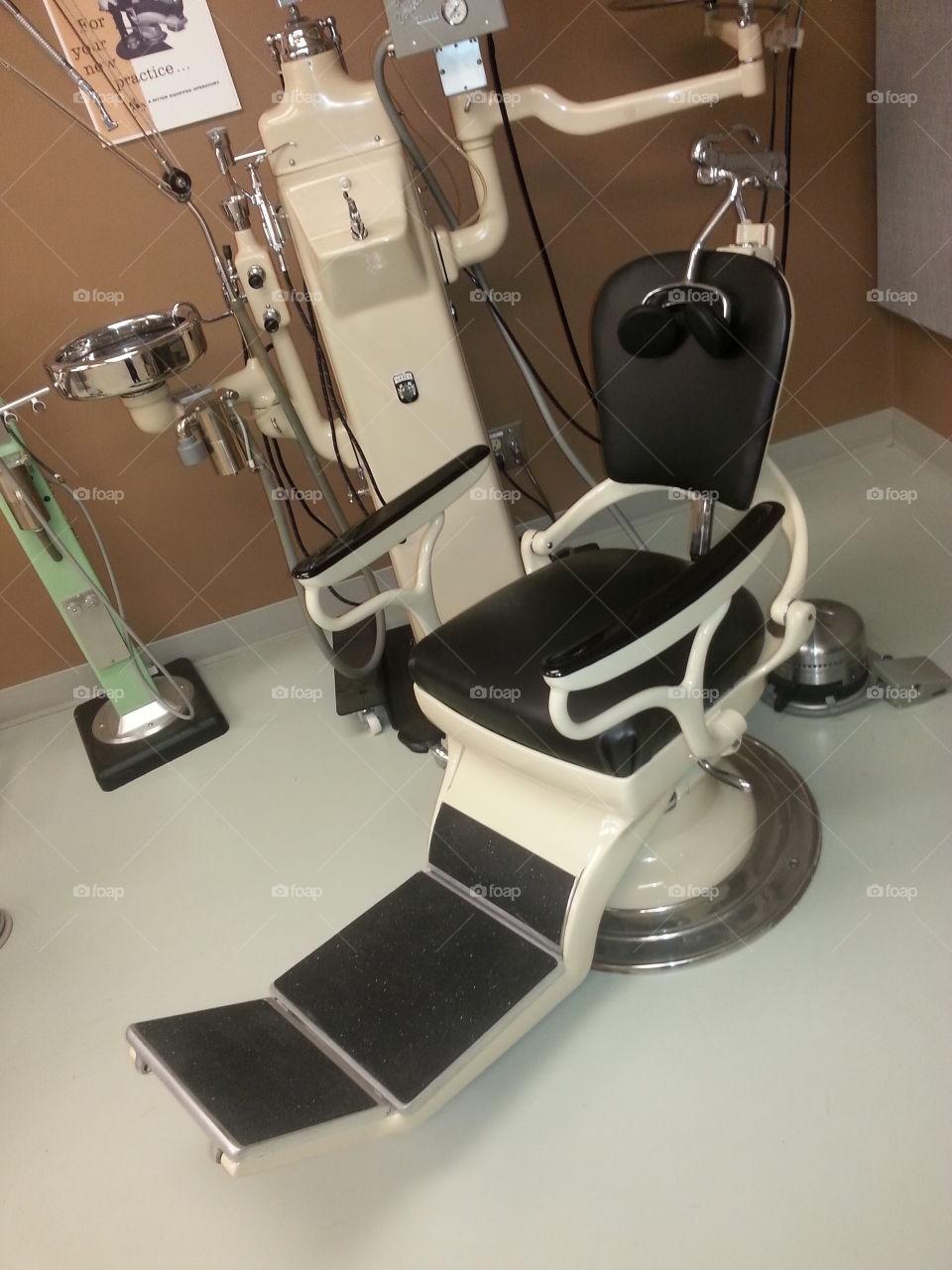 vintage dental equipment