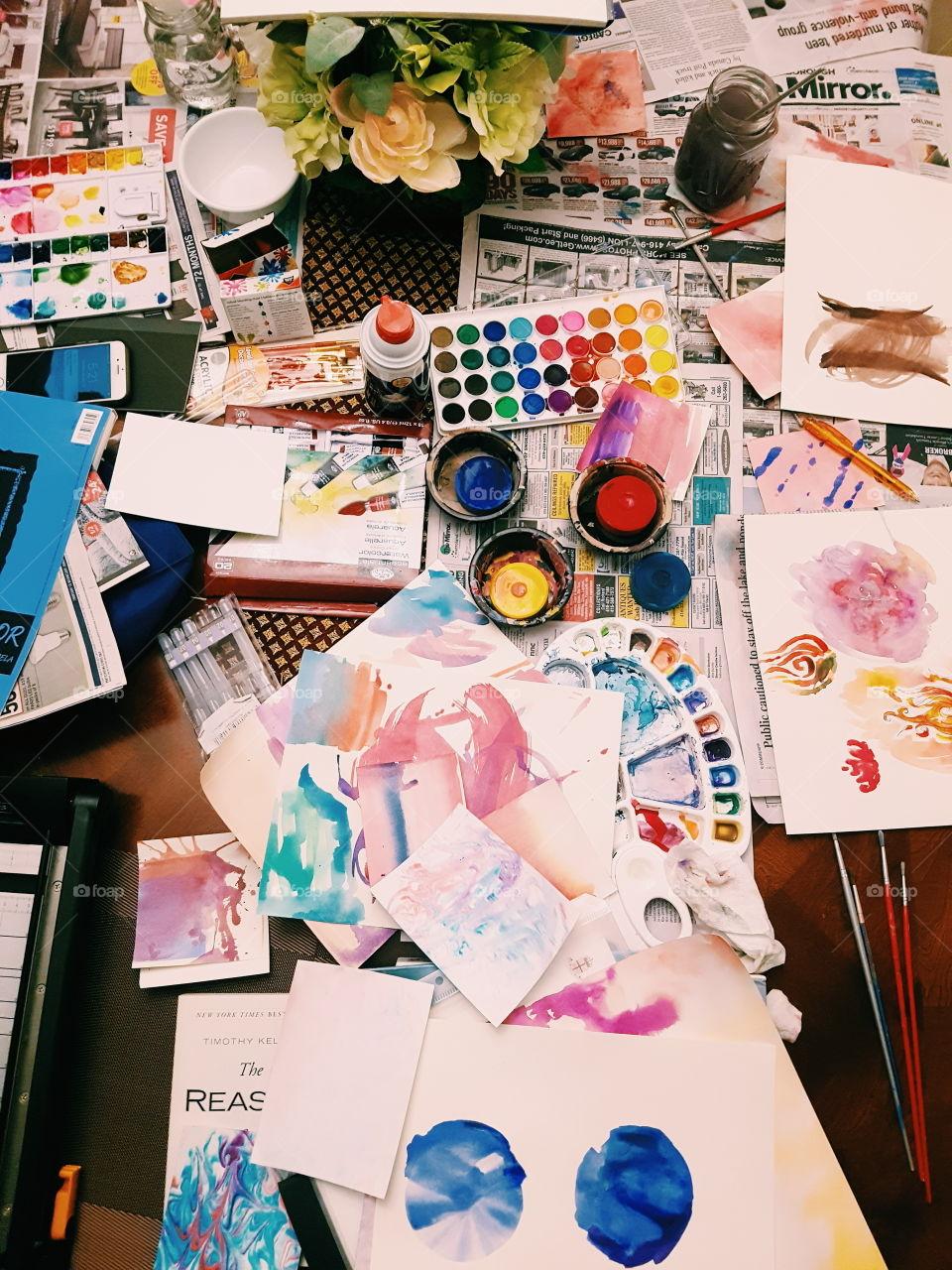 Paper, Creativity, Business, Exhibition, No Person