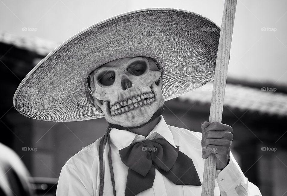 Parade Skull Man