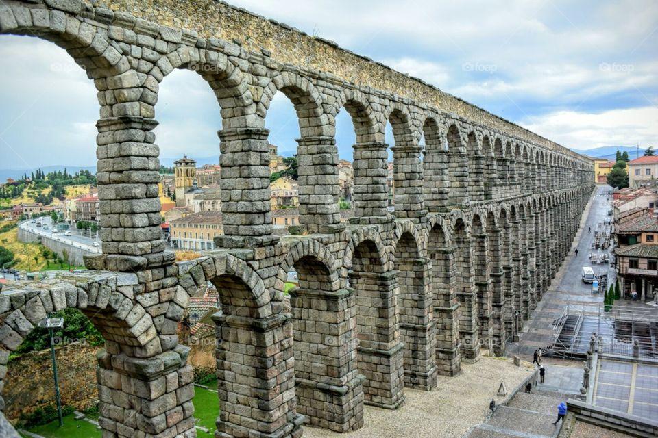 Aqueduct. Segovia, Spain