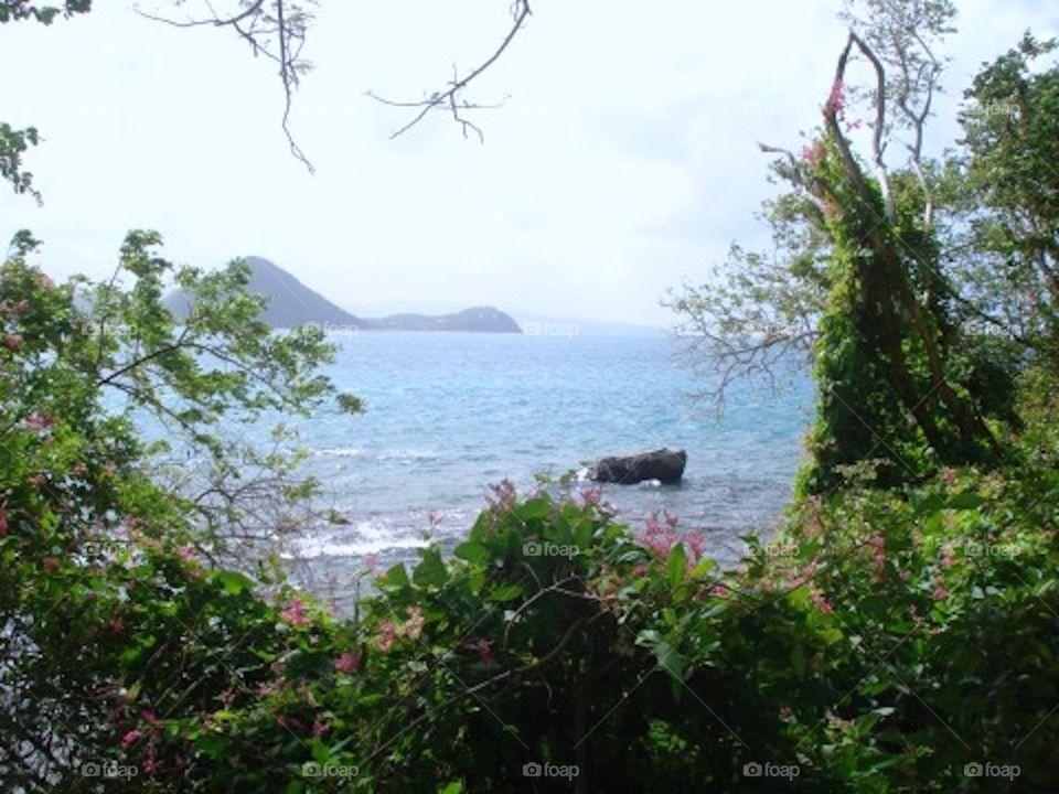 Framed island