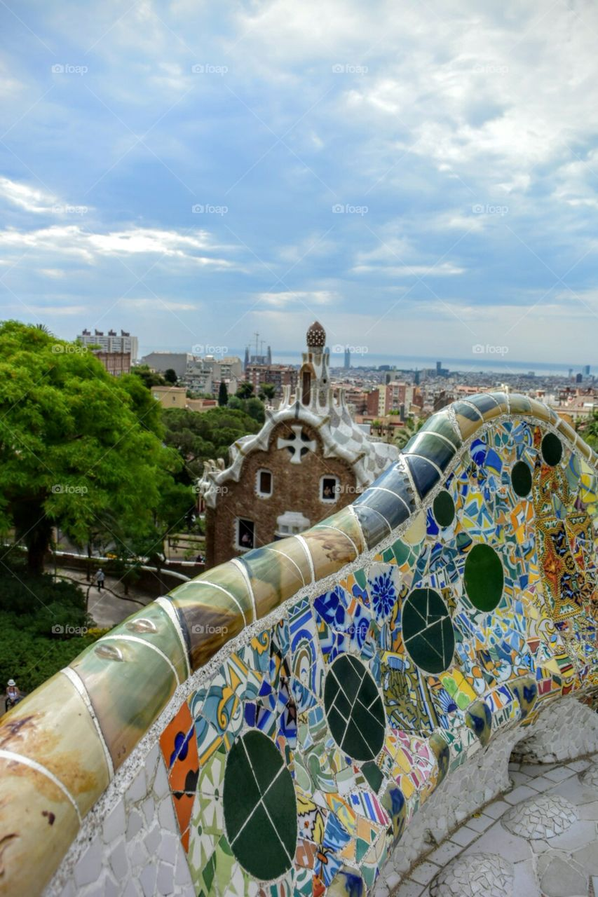 Gaudi. Barcelona, Spain