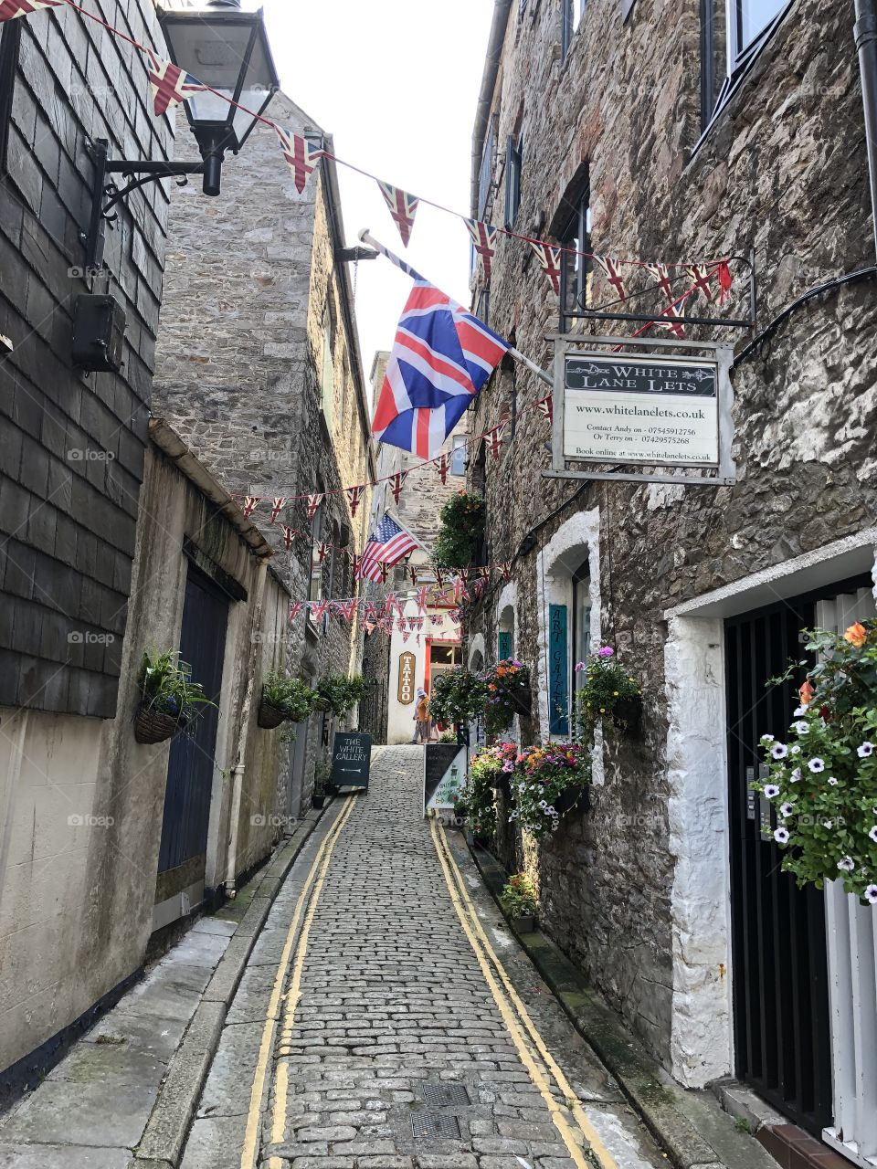 The Barbican in Plymouth has some lovely nooks and crannies,this is one fine example.