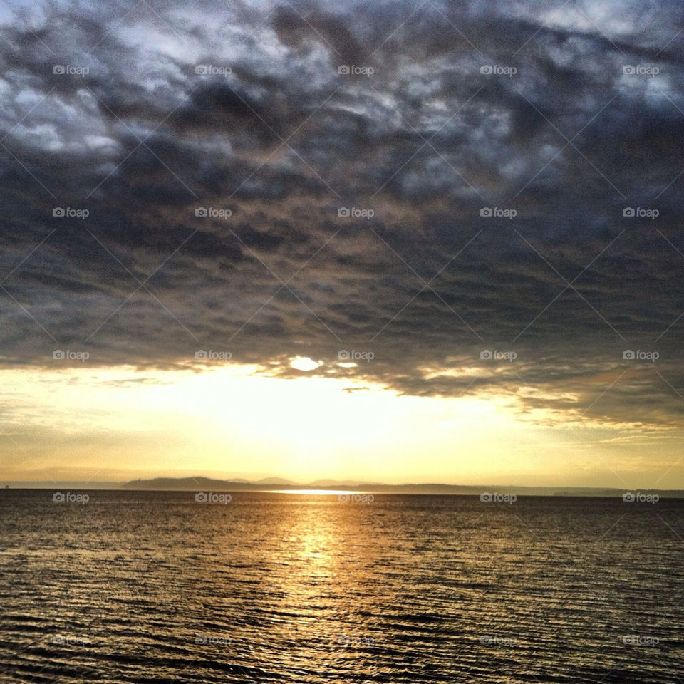 sunset clouds water king by jenifer_ward