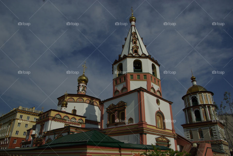 ircutsk church religion russia by Bea