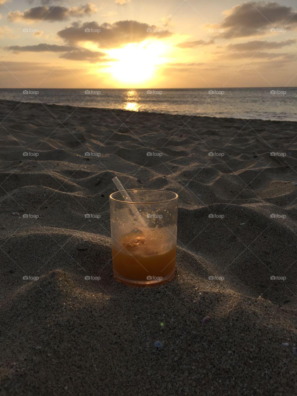 Sunset at Kap Verde