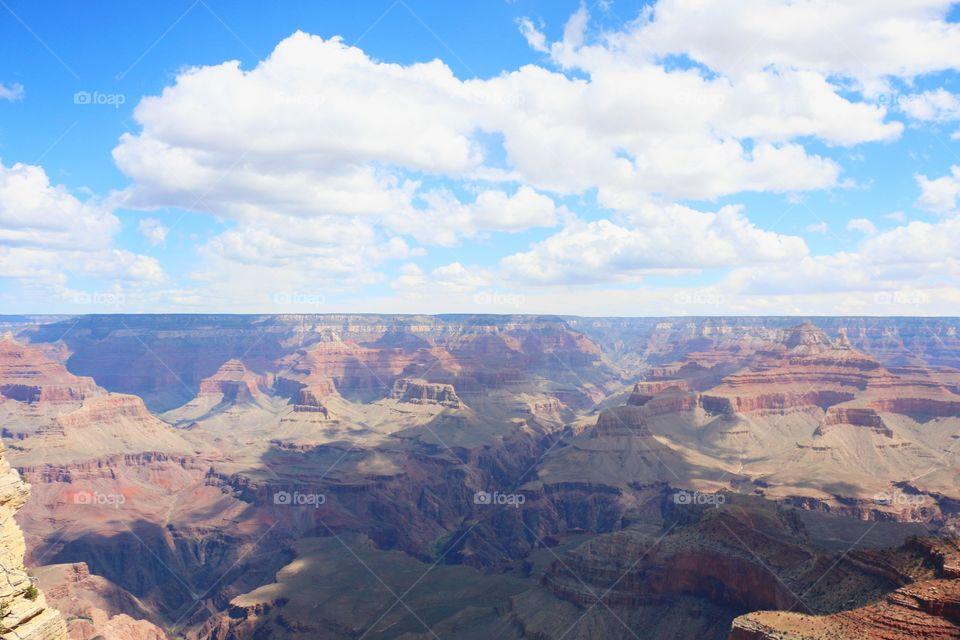 Scenic view of grand canyon, arizona