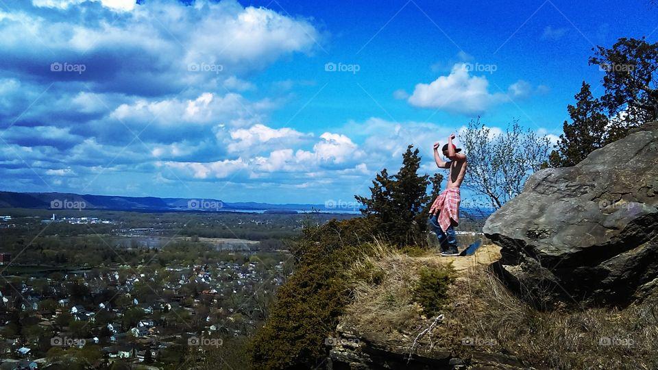 Landscape, Outdoors, Travel, Sky, Rock