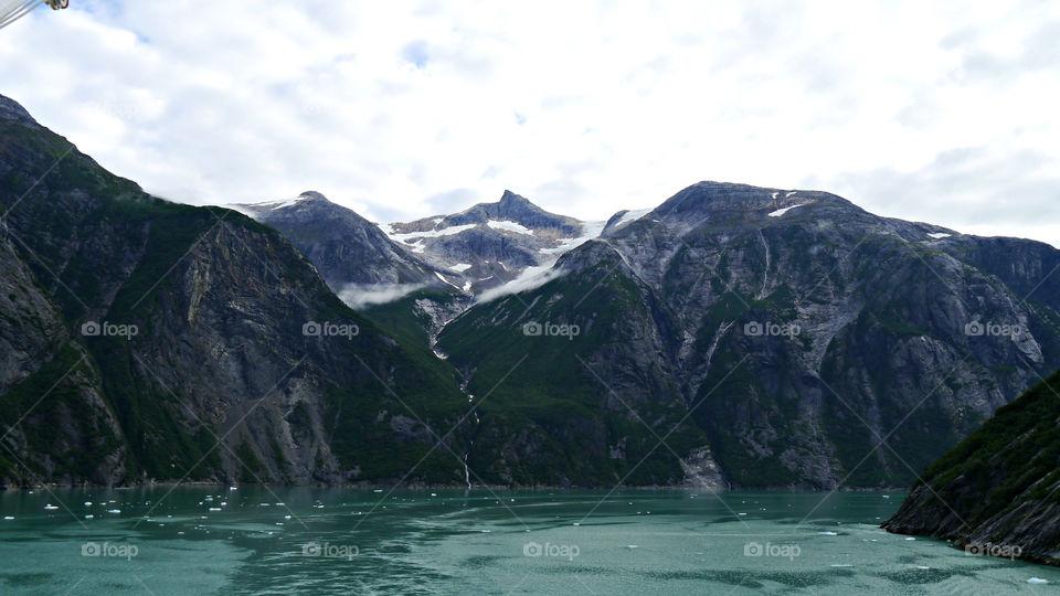 Tracy Arm Fjord, Alaska. September 2013