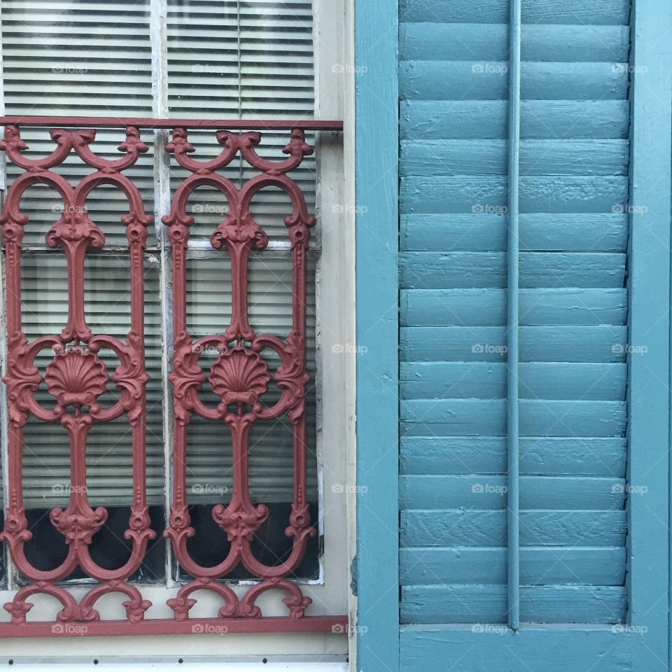 New Orleans . Getting lost in the French Quarters colors.