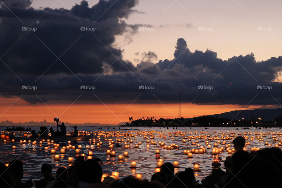 Lantern Floating Hawaii 2017