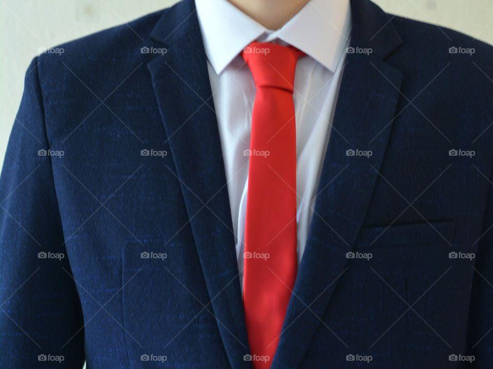 Business, Tie, Man, Wear, Suit