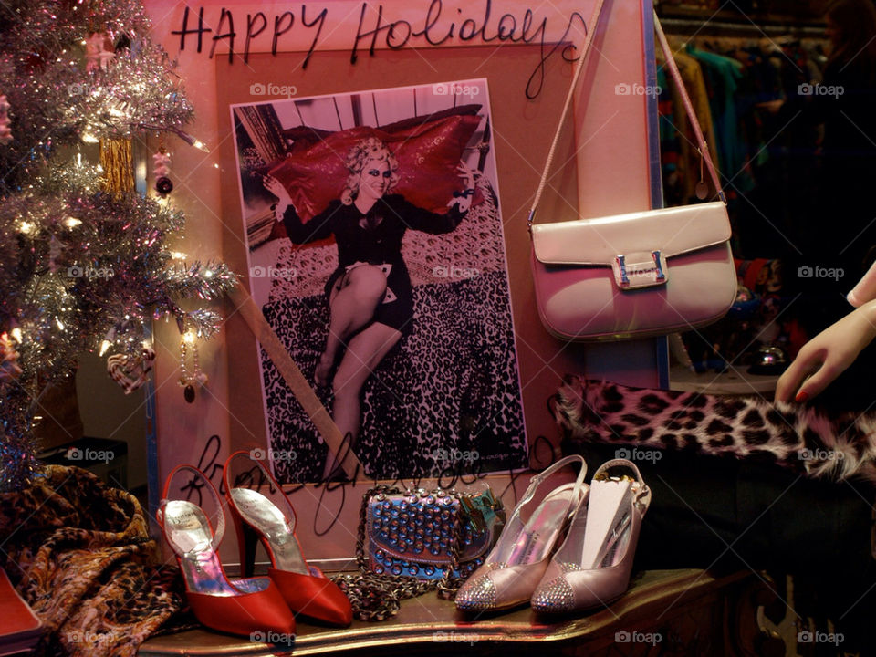 winter happy vintage shoes by robato