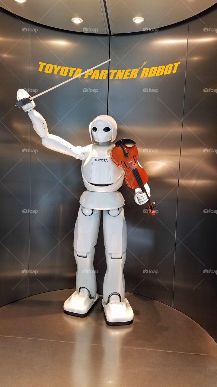 Performing robot