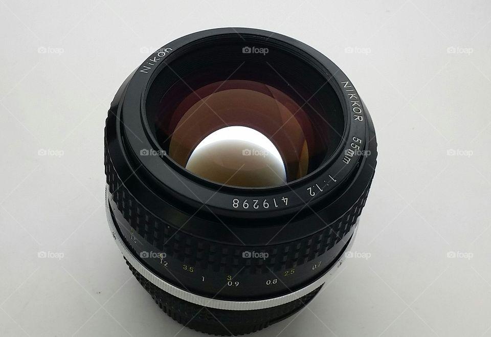 nikon nikkor 55mm 1.2 ai lens