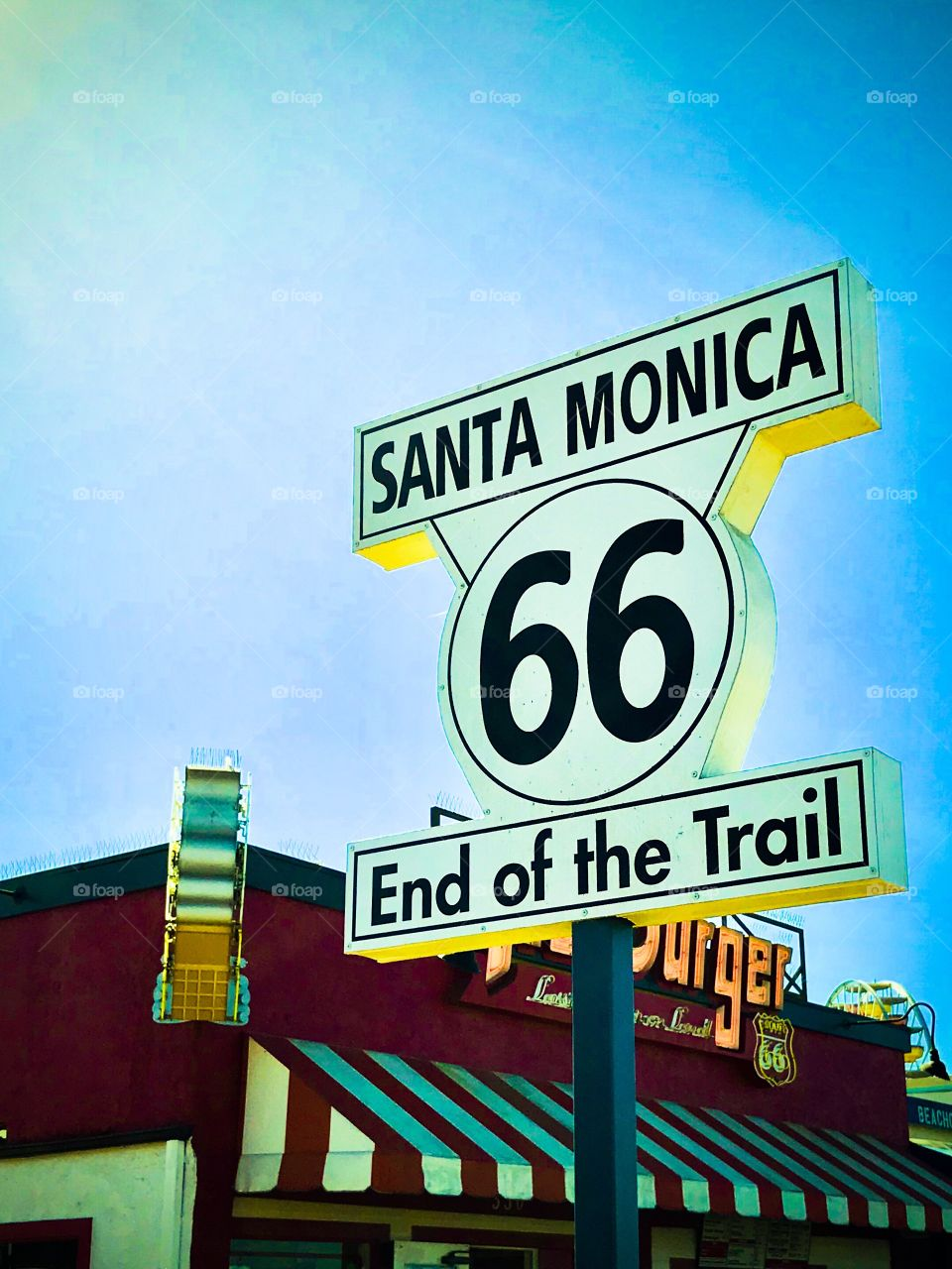 Route 66 Santa Monica California