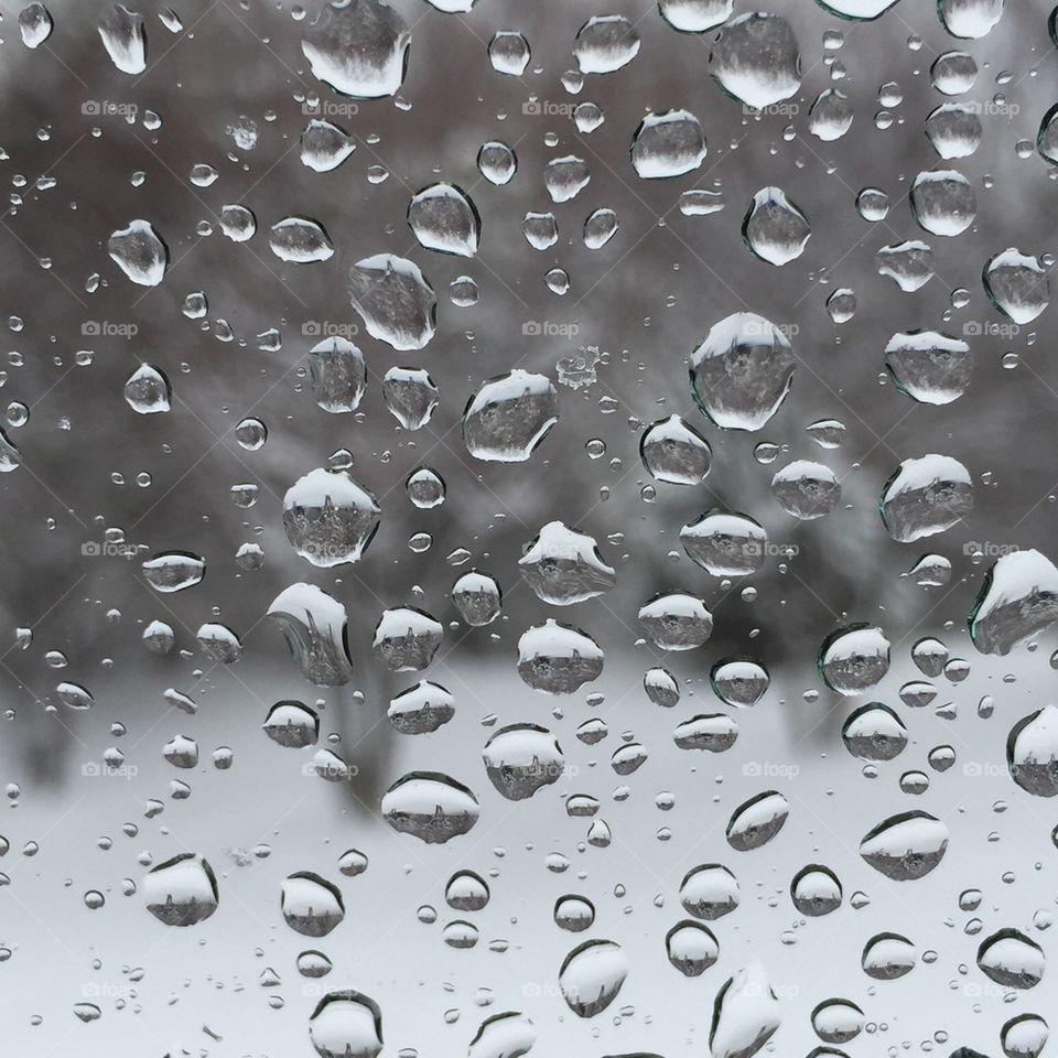 Winter droplets