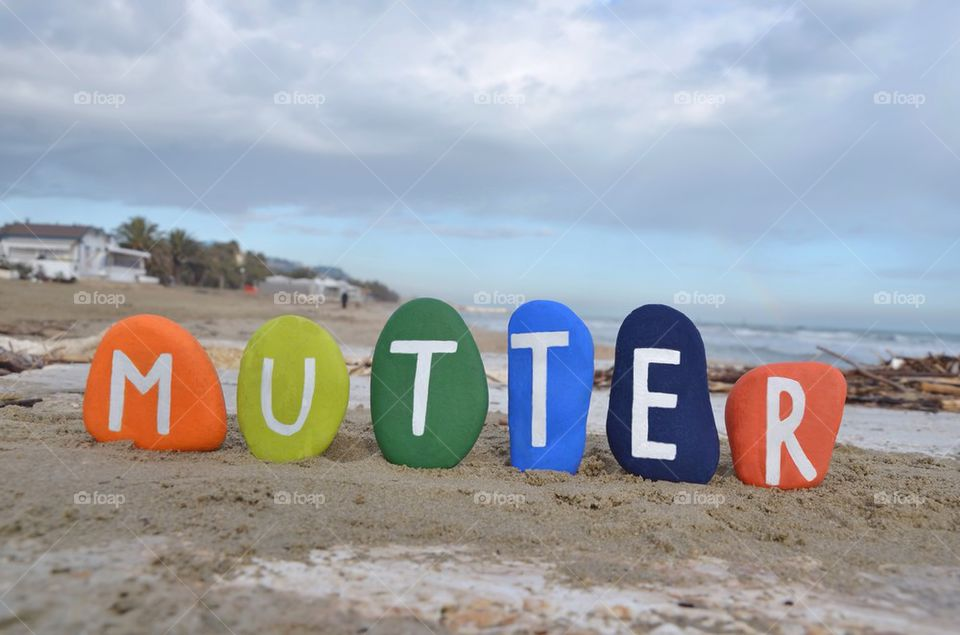 Mutter, mother in german language
