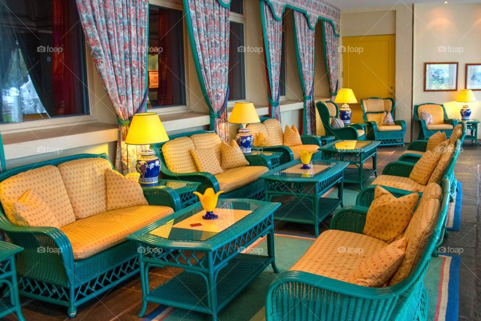 Seating at hotel ullensvang
