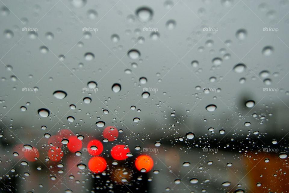 Rainy driving