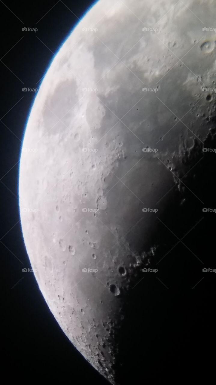 Lunar Craters.