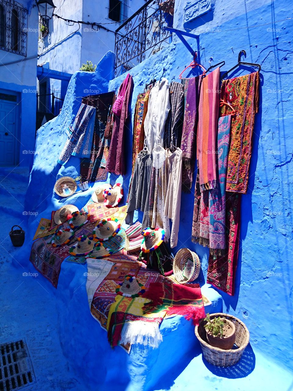 Street market in chefchaouen