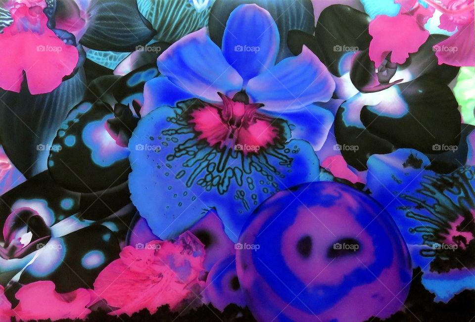flowers in the garden - love exhibition