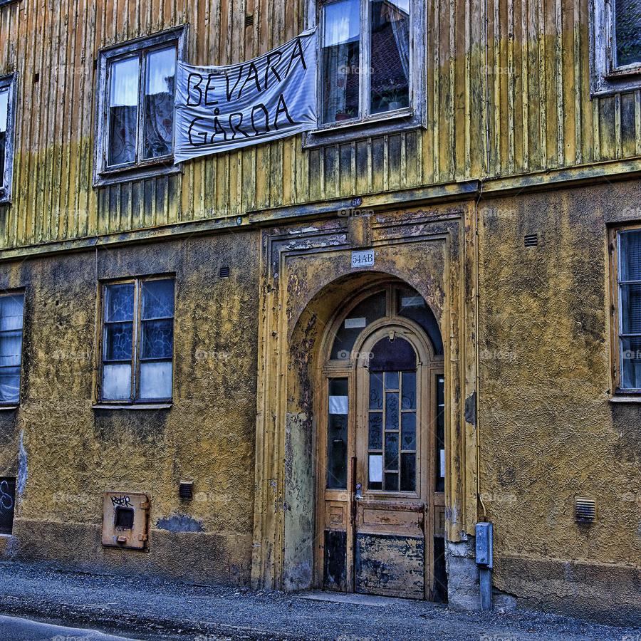 göteborg vintage gothenburg decay by hanswessberg