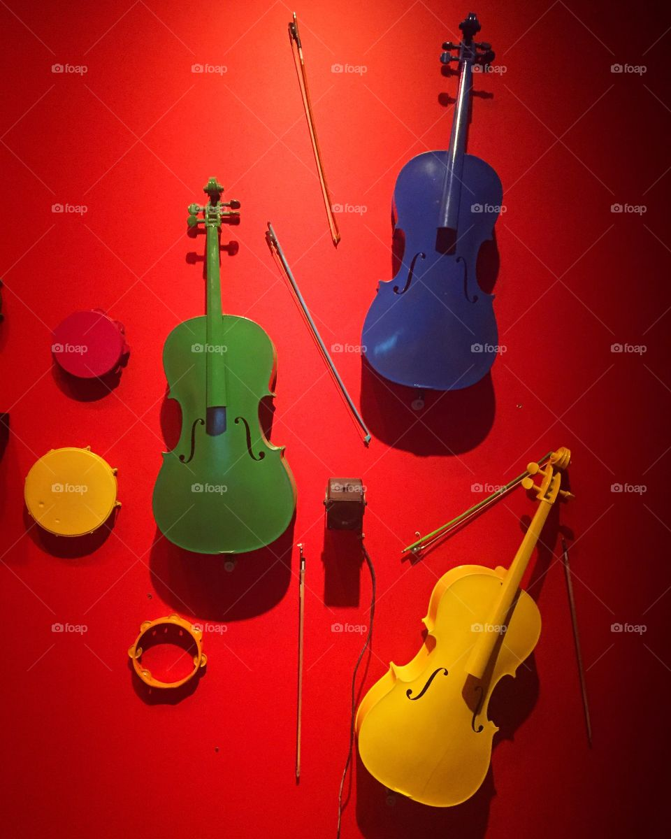 Violins on the Wall