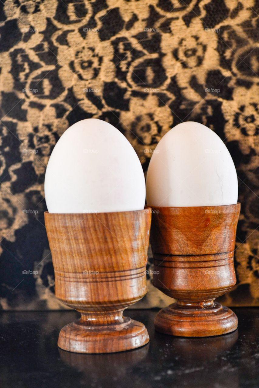 Handmade eggcups