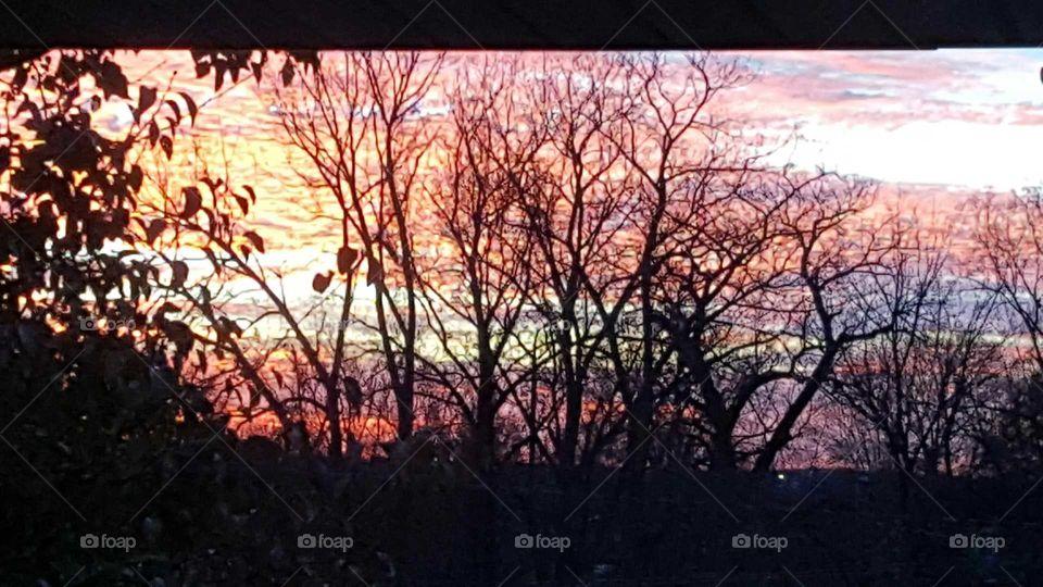 Sunset at Boxwell