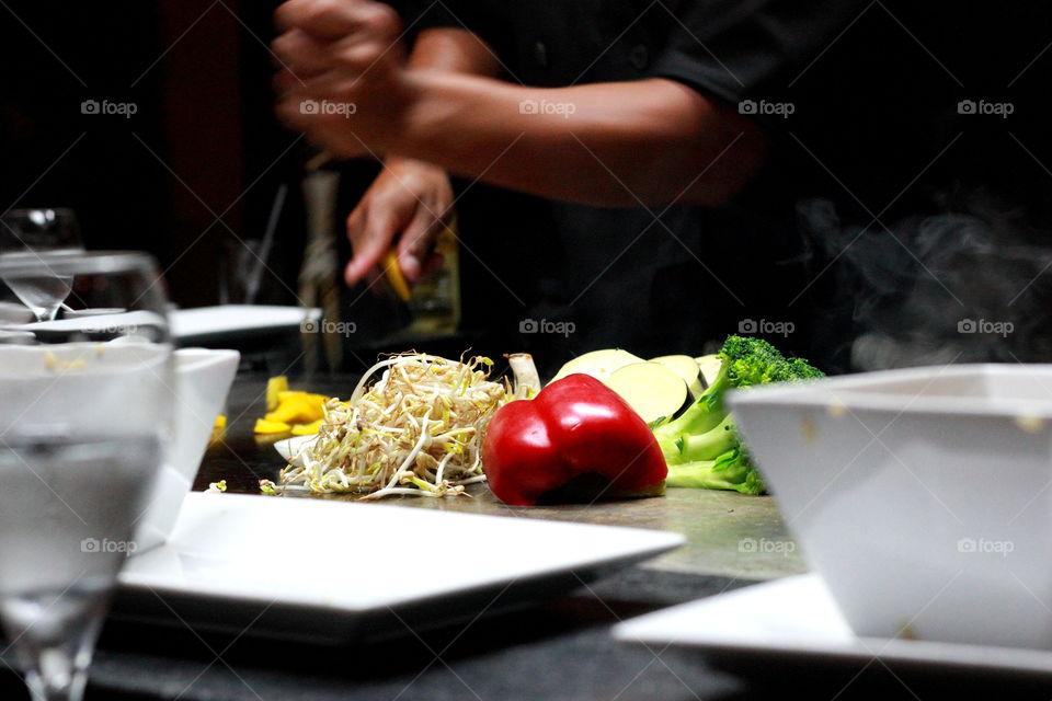 Fresh Cooked Veggies
