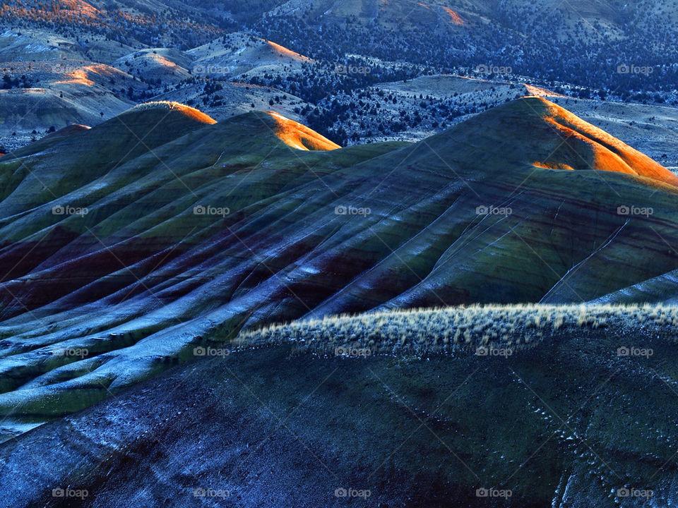 landscape light nature cold by hddatmyers