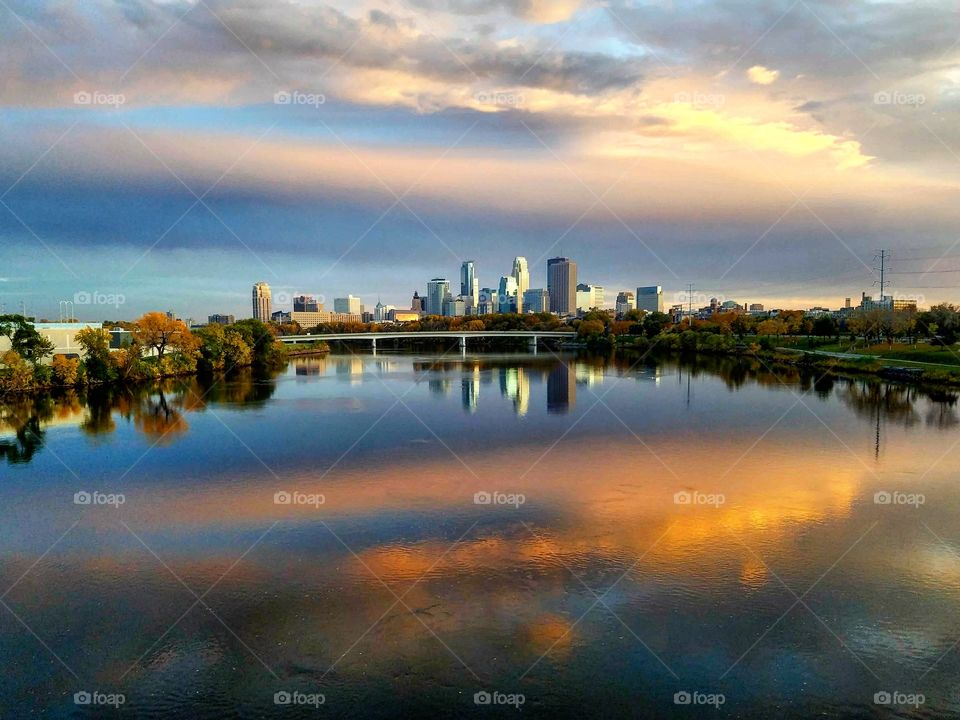 Minneapolis City Skyline