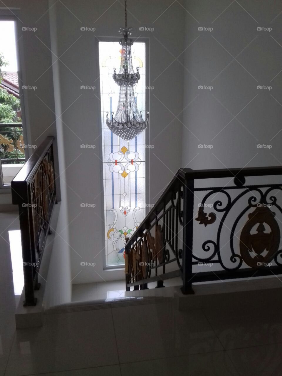 view from the second floor