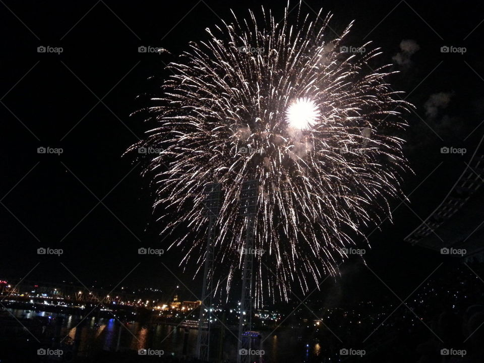 Fireworks in Cincinnati